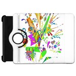 Splatter Life Kindle Fire HD Flip 360 Case Front