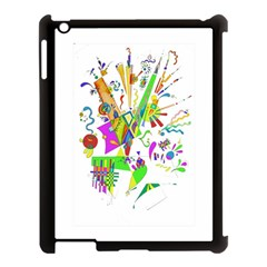 Splatter Life Apple Ipad 3/4 Case (black) by sjart