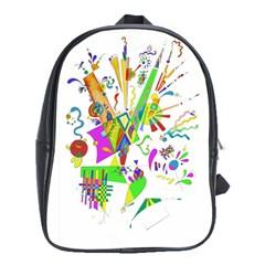 Splatter Life School Bag (xl)