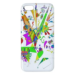 Splatter Life Apple Iphone 5 Premium Hardshell Case by sjart