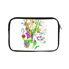 Splatter Life Apple Ipad Mini Zippered Sleeve by sjart