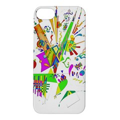 Splatter Life Apple Iphone 5s Hardshell Case by sjart