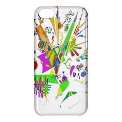 Splatter Life Apple Iphone 5c Hardshell Case by sjart