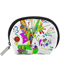 Splatter Life Accessory Pouch (small) by sjart