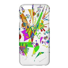 Splatter Life Apple Iphone 6 Plus Hardshell Case by sjart