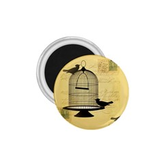 Victorian Birdcage 1 75  Button Magnet by boho
