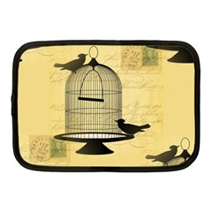 Victorian Birdcage Netbook Sleeve (medium) by boho