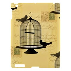 Victorian Birdcage Apple Ipad 3/4 Hardshell Case by boho