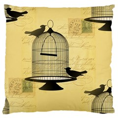 Victorian Birdcage Large Cushion Case (two Sided)