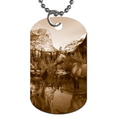 Native American Dog Tag (two Sided)  by boho