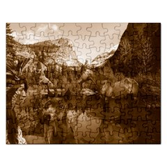 Native American Jigsaw Puzzle (rectangle) by boho