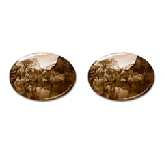 Native American Cufflinks (oval) by boho