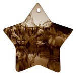 Native American Star Ornament (Two Sides) Back
