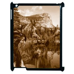 Native American Apple Ipad 2 Case (black) by boho