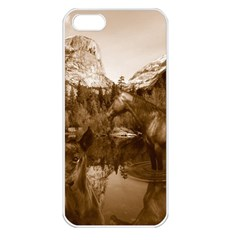 Native American Apple Iphone 5 Seamless Case (white) by boho