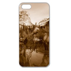 Native American Apple Seamless Iphone 5 Case (clear) by boho