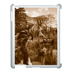 Native American Apple Ipad 3/4 Case (white) by boho