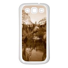Native American Samsung Galaxy S3 Back Case (white) by boho