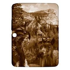 Native American Samsung Galaxy Tab 3 (10 1 ) P5200 Hardshell Case  by boho