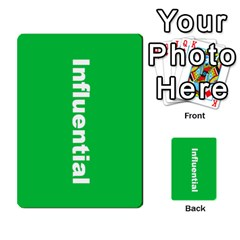 Mcg Lead With Intention Cards By Lisa   Multi Purpose Cards (rectangle)   B5p5q0nmx48w   Www Artscow Com Back 4