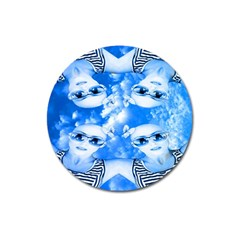 Skydivers Magnet 3  (round) by icarusismartdesigns