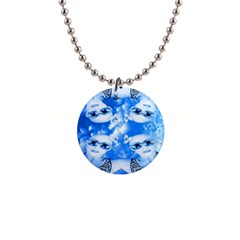 Skydivers Button Necklace by icarusismartdesigns