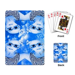 Skydivers Playing Cards Single Design by icarusismartdesigns