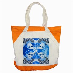 Skydivers Accent Tote Bag by icarusismartdesigns