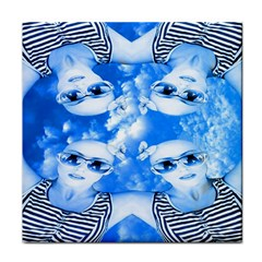 Skydivers Face Towel by icarusismartdesigns
