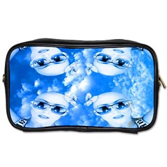 Skydivers Travel Toiletry Bag (one Side) by icarusismartdesigns