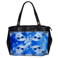 Skydivers Oversize Office Handbag (one Side) by icarusismartdesigns