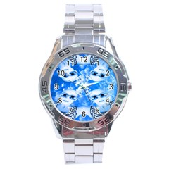 Skydivers Stainless Steel Watch by icarusismartdesigns