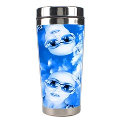 Skydivers Stainless Steel Travel Tumbler by icarusismartdesigns