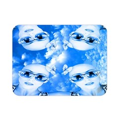 Skydivers Double Sided Flano Blanket (mini) by icarusismartdesigns