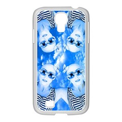Skydivers Samsung Galaxy S4 I9500/ I9505 Case (white) by icarusismartdesigns