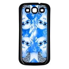 Skydivers Samsung Galaxy S3 Back Case (black) by icarusismartdesigns