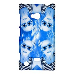 Skydivers Nokia Lumia 720 Hardshell Case by icarusismartdesigns