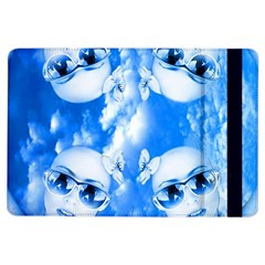 Skydivers Apple Ipad Air Flip Case by icarusismartdesigns