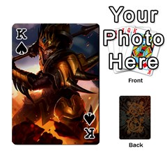 King League By Alexander Pfanne   Playing Cards 54 Designs   Fkx0tpk0ypot   Www Artscow Com Front - SpadeK