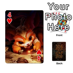 League By Alexander Pfanne   Playing Cards 54 Designs   Fkx0tpk0ypot   Www Artscow Com Front - Heart4