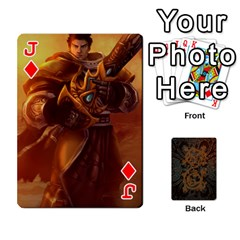 Jack League By Alexander Pfanne   Playing Cards 54 Designs   Fkx0tpk0ypot   Www Artscow Com Front - DiamondJ