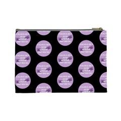 Villan By Nicole Wiseman   Cosmetic Bag (large)   83c1agxj2y7z   Www Artscow Com Back