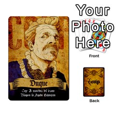 Ace Coup Hugo Ivan Español By Maeggor   Playing Cards 54 Designs   0jxky1btmsk0   Www Artscow Com Front - SpadeA