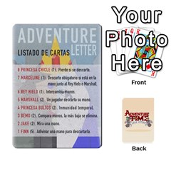 Adventure Letter Hugo Ivan By Maeggor   Playing Cards 54 Designs (rectangle)   B8goqjamknka   Www Artscow Com Front - Spade7