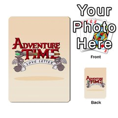Adventure Letter Hugo Ivan By Maeggor   Playing Cards 54 Designs   B8goqjamknka   Www Artscow Com Back