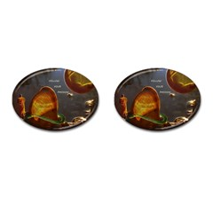 Follow Your Passion Cufflinks (oval) by lucia