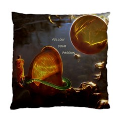 Follow Your Passion Cushion Case (two Sided)  by lucia
