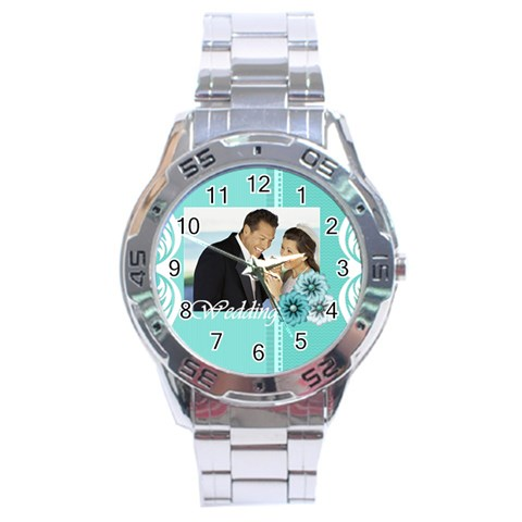 Wedding By Wedding   Stainless Steel Analogue Watch   Fdmd8ajo62nv   Www Artscow Com Front