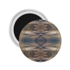 Wildlife Wild Animal Skin Art Brown Black 2 25  Button Magnet by yoursparklingshop