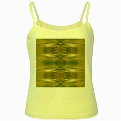 Wildlife Wild Animal Skin Art Brown Black Yellow Spaghetti Tank by yoursparklingshop